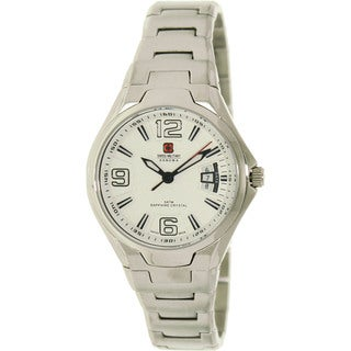Swiss Military Hanowa Women's 'Swiss Guard' Silver Dial Watch