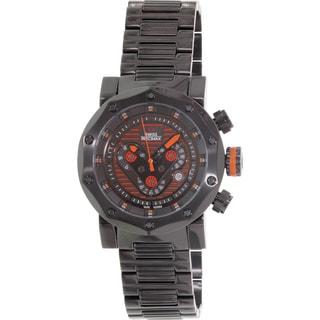 Swiss Precimax Men's 'Vector Pro' SP13092 Black Dial Swiss Chronograph Watch