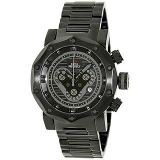 Swiss Precimax Men's 'Vector Pro SP13094' Black/ Grey Swiss Chronograph Watch