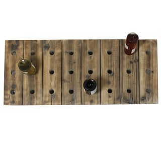 Casa Cortes 24-bottle Wood Wine Rack