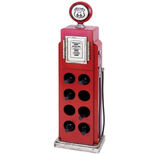 Casa Cortes Route 66 Eight-bottle Wine Rack