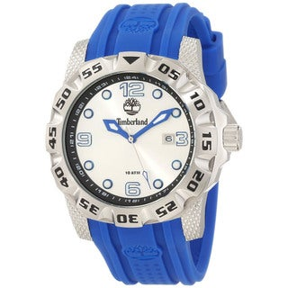 Timberland Men's 'Belknap' Blue/ Silver Watch