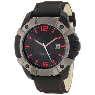 Timberland Men's 'Chocorua' Black/ Red Watch