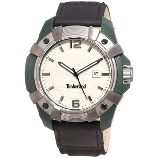 Timberland Men's 'Chocorua' Grey Dial Nylon Strap Watch