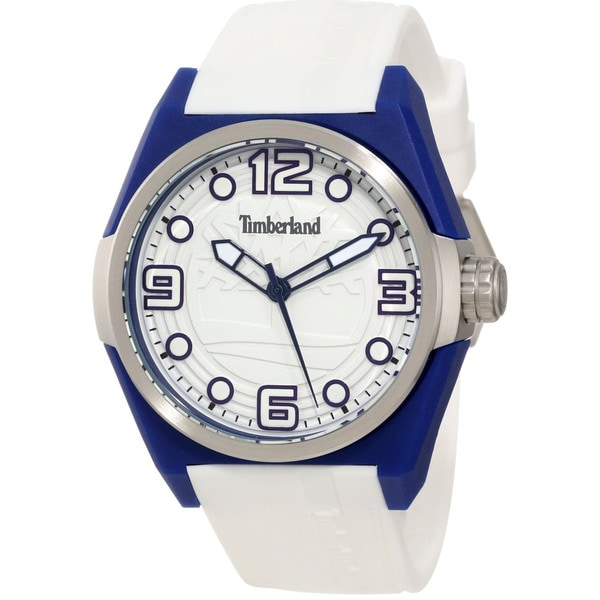 Timberland Men's 'Radler' White/ Blue Watch