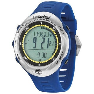 Timberland Men's 'Washington Summit' Blue Digital Watch