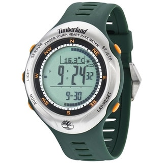 Timberland Men's 'Washington Summit' Green Digital Watch
