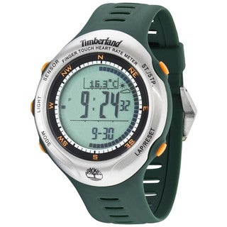Timberland Men's 'Washington Summit' Green Digital Watch