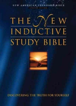 The New Inductive Study Bible: New American Standard Bible: Burgundy Genuine Leather (Paperback)