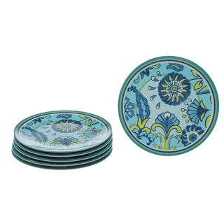 Certified International Capri Blue 9-inch Plates (Set of 6)