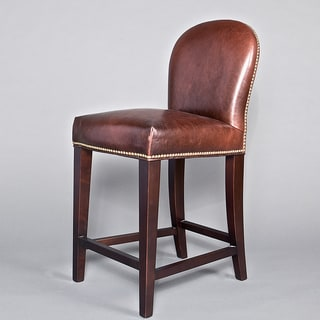 Belmont Leather Counter Stool