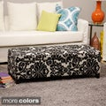 Bolbolac Flower Fabric-upholstered Storage Bench