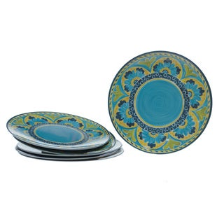 Certified International Mexican Tile 11-inch Plates (Set of 6)