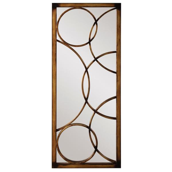 Brittany Brushed Antique Bronze Mirror