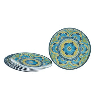 Certified International Mexican Tile 9-inch Plates (Set of 6)