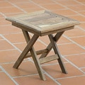 Handcrafted Tzalam Wood 'Paradise Hacienda' Folding Table (Mexico)
