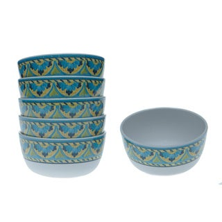 Certified International Mexican Tile 6-inch Bowls (Set of 6)