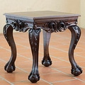 Handcrafted Cedar Wood 'Mexican Manor House' Accent Table (Mexico)