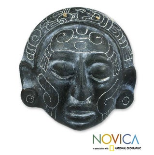 Ceramic 'Maya Night Voyage' Mask (El Salvador)