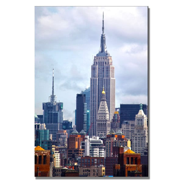 CATeyes 'Concrete Jungle' Canvas Art