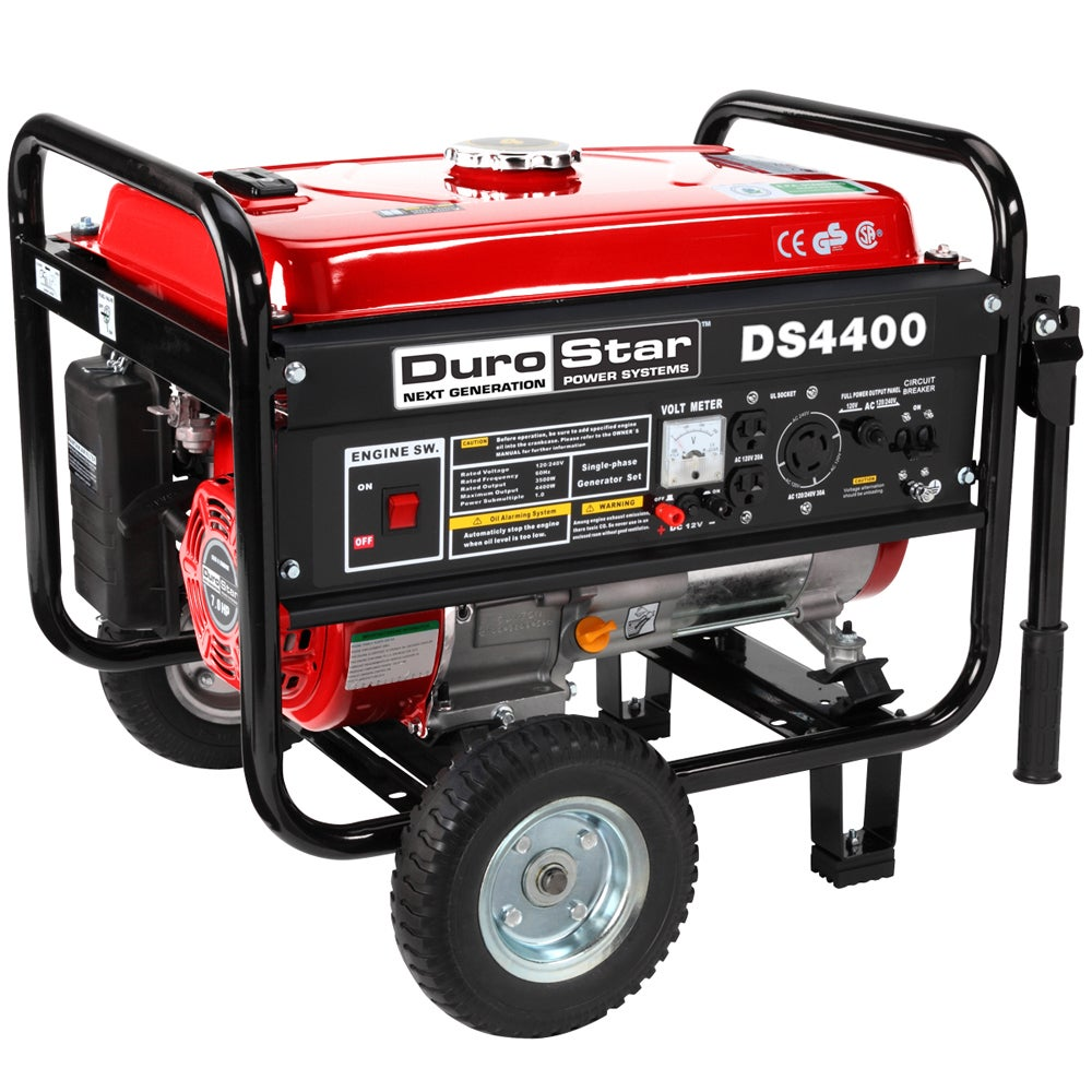 DuroStar 4400 Watt Portable Gas Generator Kit at Sears.com