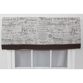 Document Fossil Straight Window Valance