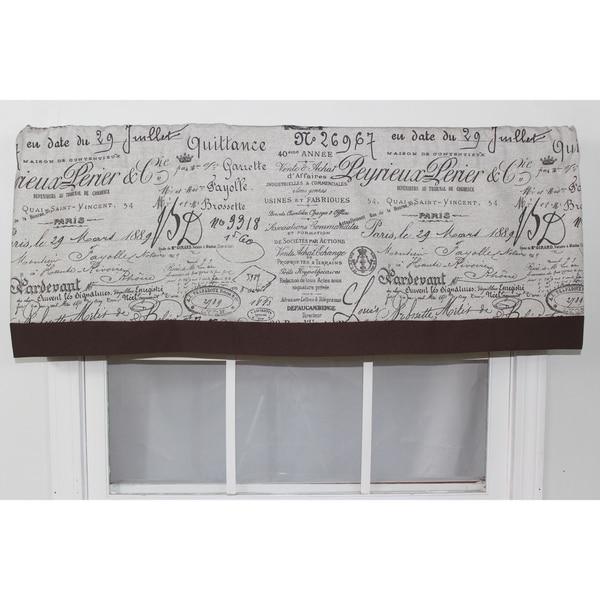 Document Fossil Straight Window Valance