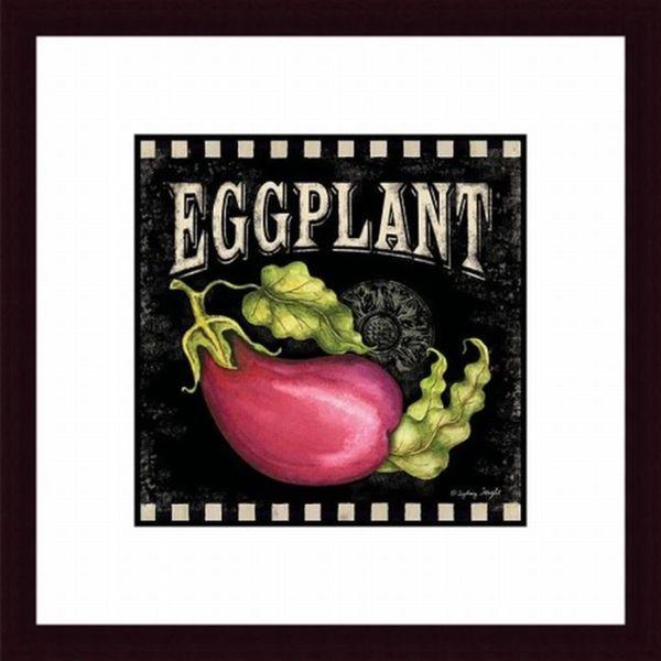 Eggplant Framed Print