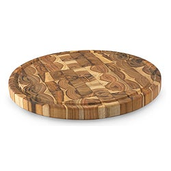 Reclaimed Teakwood 'Nature's Puzzles' Chopping Board (Guatemala)