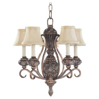 Sea Gull Lighting Highlands 5-light Regal Bronze Chandelier