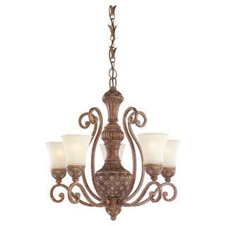 Sea Gull Lighting Highlands 5-light Regal Bronze Chandelier
