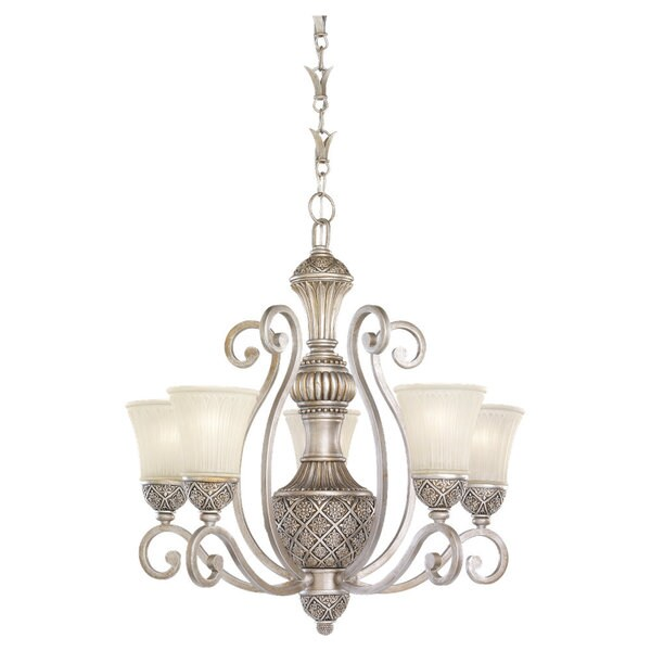 Sea Gull Lighting Highlands 5-light Palladium Chandelier