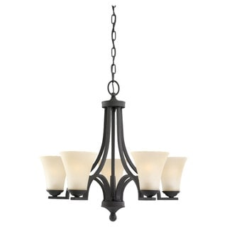 Sea Gull Lighting Somerton 5-light Blacksmith Chandelier