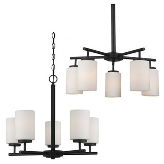 Sea Gull Lighting Oslo 5-light Blacksmith Chandelier