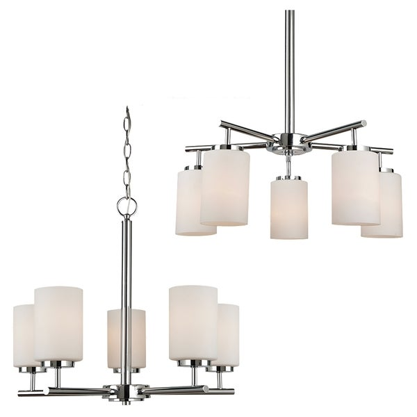 Sea Gull Lighting Oslo 5-light Chrome Chandelier