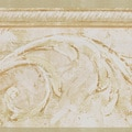 Brewster Scroll Border Cream Wallpaper