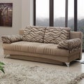 Daisy Light Brown Sofabed