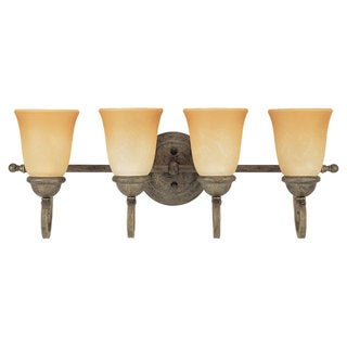 Sea Gull Lighting Four-Light Brandywine Wall/ Bath Light Fixture