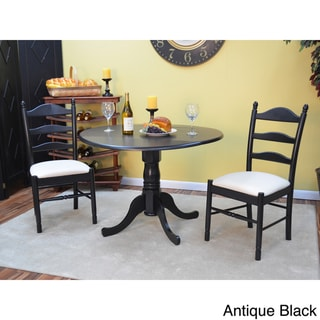 Gwen 3 Piece Dining Set Overstock Shopping Big Discounts On Dining Sets