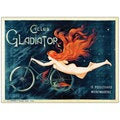 Georges Massias 'Cycles Gladiator' Canvas Art