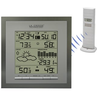 Wireless Forecast Station with Pressure History