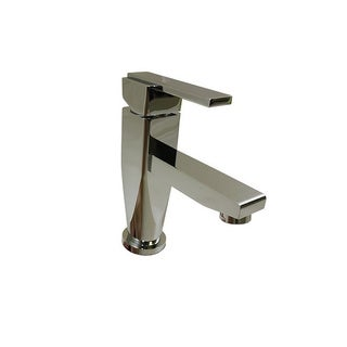 90 Degree Angle Chrome Finish Stainless Steel Faucet
