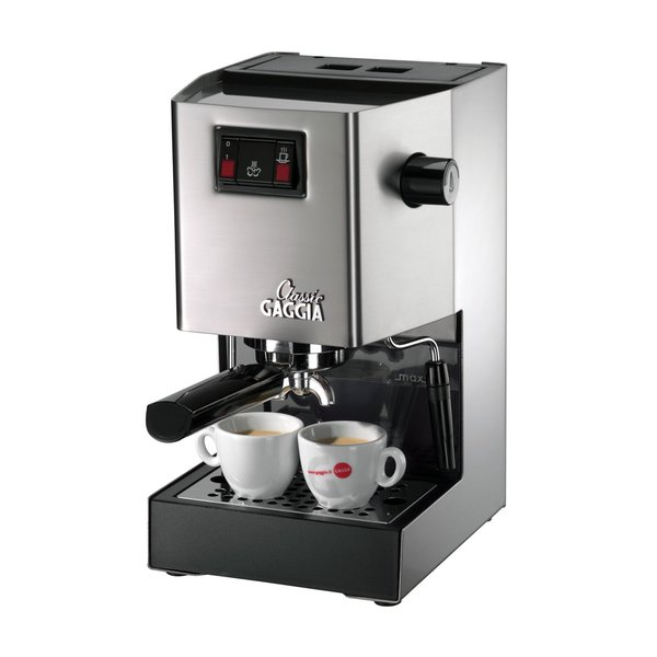 gaggia 14101 classic espresso machine brushed stainless steel