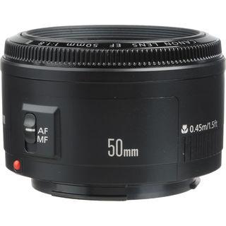Canon EF 50mm f/1.8 II Autofocus Lens Bundle