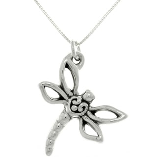 CGC Sterling Silver Dragonfly Necklace