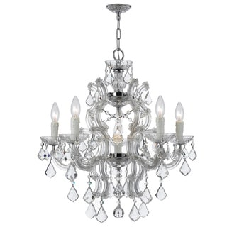 Maria Theresa 6-light Chandelier in Chrome