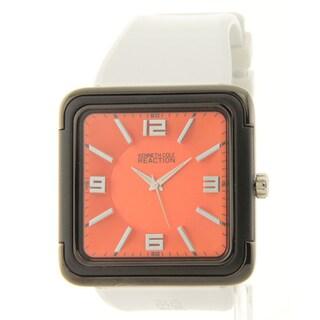 Kenneth Cole Reaction Men's Orange/ White Watch
