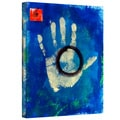 Elena Ray 'Health Hand Print' Gallery-Wrapped Canvas