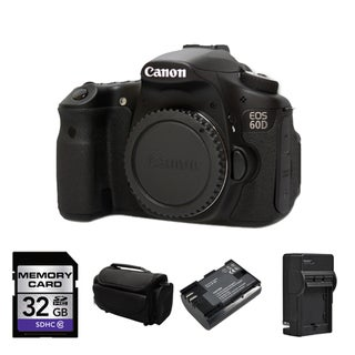 Canon EOS 60D DSLR Camera Body Bundle