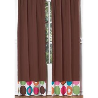 Deco Dot Modern 84-inch Curtain Panel Pair